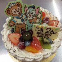 ダッフィーちゃんケーキ